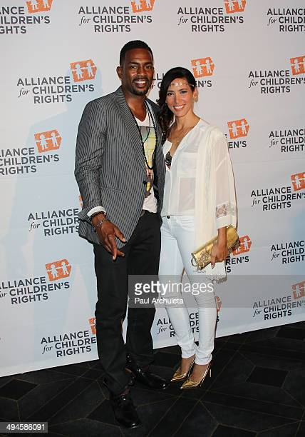 Actor Bill Bellamy and his Wife Kristen Bellamy attend The Alliance For Children's Rights 5th Annual Right To Laugh comedy benefit at Avalon on May...