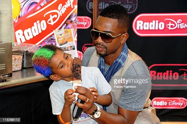 Actor Bill Bellamy and son Baron Bellamy attend the 5th Annual Kidstock To Benefit One Voice Scholars Program sponsored by Hudson Jeans at Greystone...