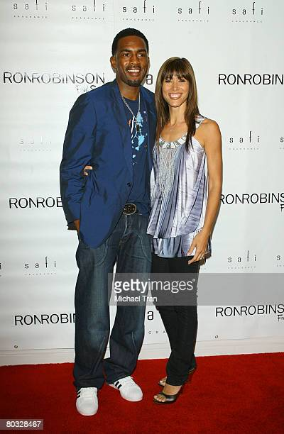 Actor Bill Bellamy and wife Kristen Bellamy arrive at Nyakio Grieco's Safi Fragrance Launch party held at APOTHIA inside Fred Segal on March 20 2008...