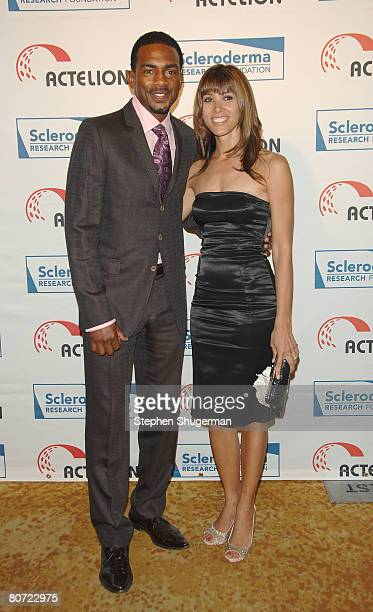 Actor Bill Bellamy and wife Kristen Bellamy attend Cool Comedy Hot Cuisine Benefit Gala at the Four Seasons Beverly Wilshire on April 16 2008 in...