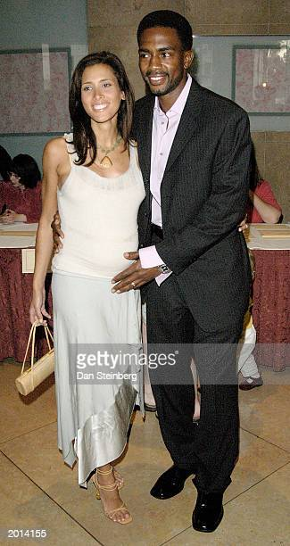 Actor Bill Bellamy and wife Kristin arrive at the ACLU Foundation of Southern California Torch of Liberty Awards Dinner at the Beverly Hilton Hotel...