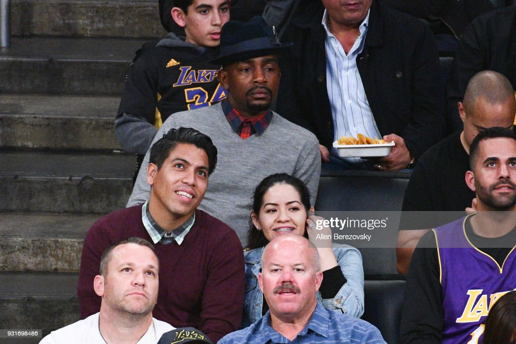 Actor Bill Bellamy attends a basketball game between the Los Angeles Lakers and the Denver Nuggets at Staples Center on March 13, 2018 in Los Angeles, California.