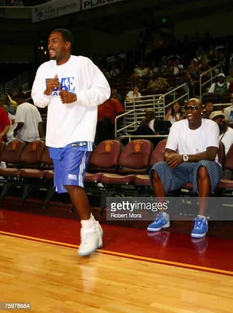 Actor Bill Bellamy during the LA stars celebrity all star charity weekend celebrity and NBA all star game at USC Galen Center on August 5 2007 in Los...