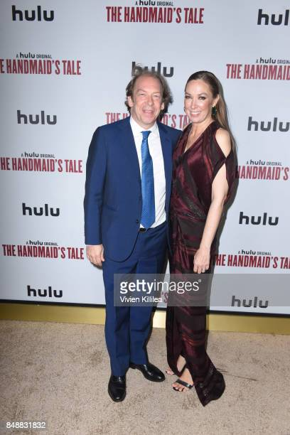 Actor Bill Camp and actress Elizabeth Marvel attend Hulu's 2017 Emmy After Party on September 17 2017 in Los Angeles California