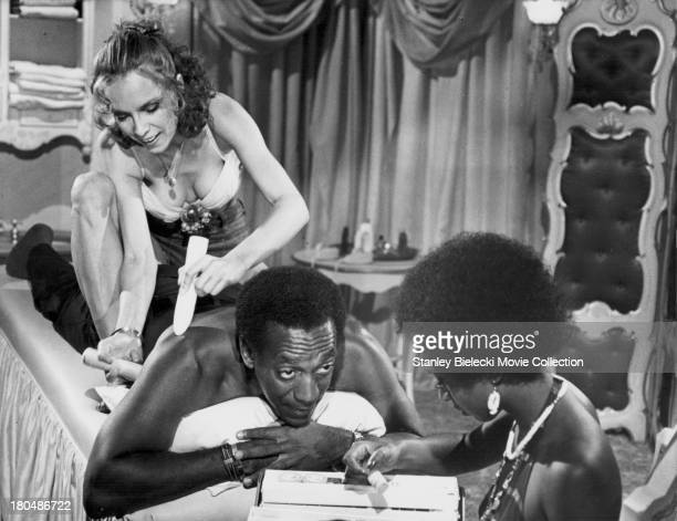 Actor Bill Cosby in a scene from the movie 'Mother Jugs and Speed' 1976