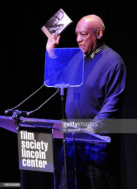 Actor Bill Cosby speaks onstage at The Film Society of Lincoln Center's presentation of the 38th Annual Chaplin Award at Alice Tully Hall on May 2,...