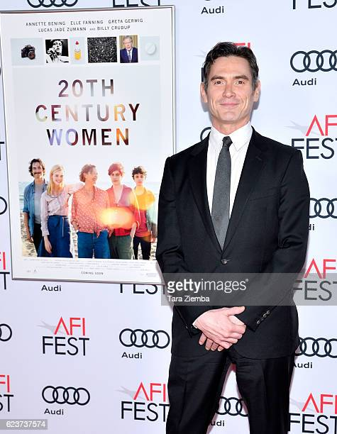 Actor Bill Crudup attends a tribute to Annette Bening and gala screening of A24's 20th Century Women at AFI Fest 2016 presented by Audi at The...