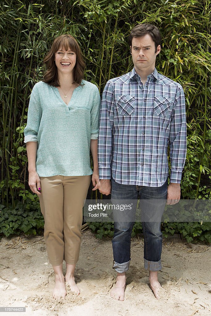Bill Hader and Maggie Carey, USA Today, July 26, 2013