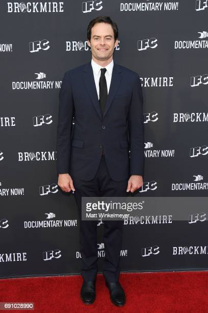 Actor Bill Hader arrives at the FYC event for IFC's 'Brockmire' and Documentary Now' at Saban Media Center on May 31 2017 in North Hollywood...