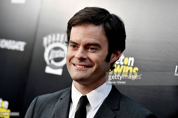 Actor Bill Hader arrives at the premiere of Roadside Attractions' The Skeleton Twins at the Arclight Theatre on September 10 2014 in Los Angeles...