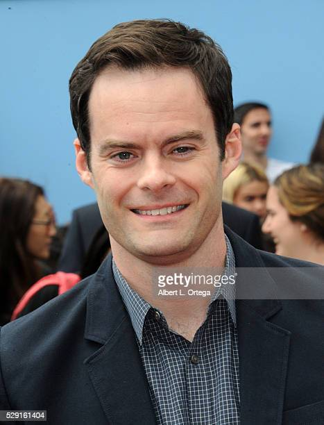 Actor Bill Hader arrives for the Premiere Of Sony Pictures' 'Angry Birds' held at Regency Village Theatre on May 7 2016 in Westwood California
