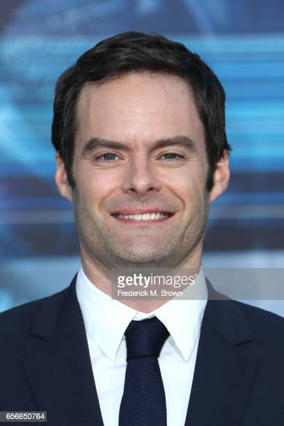 Actor Bill Hader at the premiere of Lionsgate's 'Power Rangers' on March 22 2017 in Westwood California