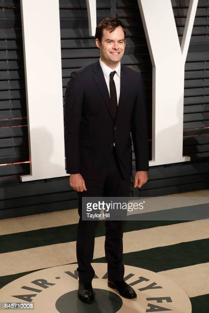 Actor Bill Hader attends 2017 Vanity Fair Oscar Party Hosted By Graydon Carter at Wallis Annenberg Center for the Performing Arts on February 26 2017...