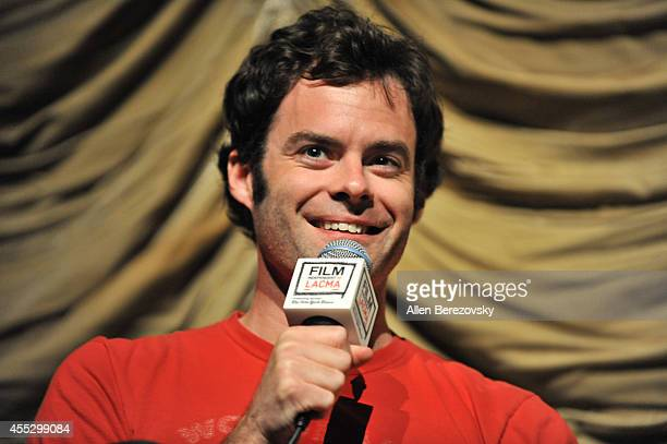 Actor Bill Hader attends a special screening of The Skeleton Twins and QA session as part of Film Independent presented by LACMA at Bing Theatre At...