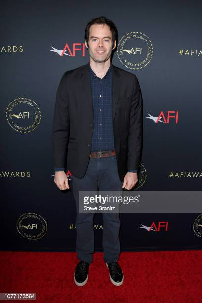 Actor Bill Hader attends the 19th Annual AFI Awards at Four Seasons Hotel Los Angeles at Beverly Hills on January 4 2019 in Los Angeles California
