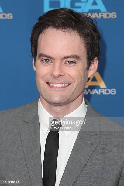 Actor Bill Hader attends the 67th Annual Directors Guild Of America Awards at the Hyatt Regency Century Plaza on February 7 2015 in Century City...