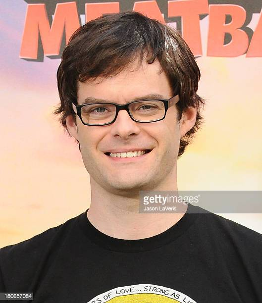 Actor Bill Hader attends the Cloudy With A Chance Of Meatballs 2 Photo Call at Four Seasons Hotel Los Angeles at Beverly Hills on September 15 2013...