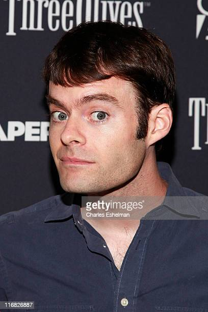 Actor Bill Hader attends the Gen Art and Overture Films screening Of 'Paper Heart' at AMC Loews 19th Street on August 5 2009 in New York City