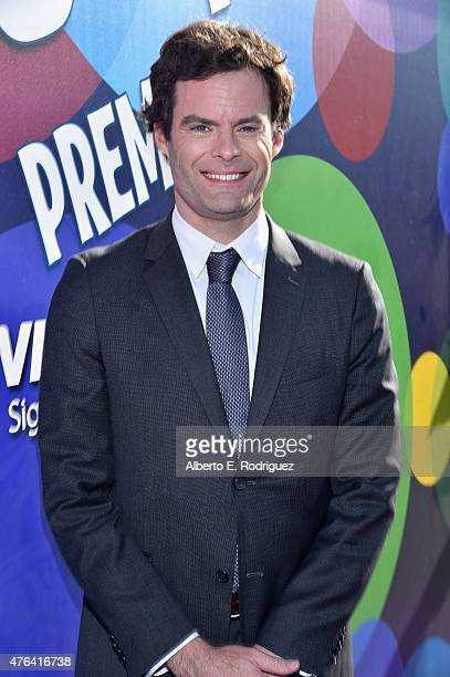 Actor Bill Hader attends the Los Angeles Premiere and Party for Disney•Pixar's INSIDE OUT at El Capitan Theatre on June 8 2015 in Hollywood California