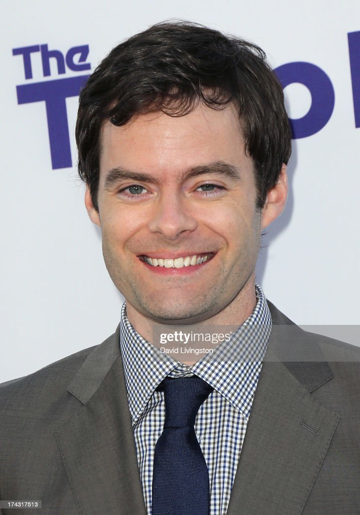 Actor Bill Hader attends the premiere of CBS Films' 'The To Do List' at the Regency Bruin Theatre on July 23, 2013 in Westwood, California.