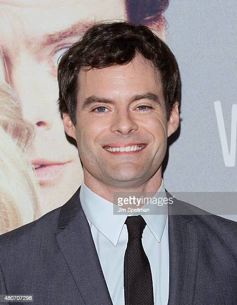 Actor Bill Hader attends the 'Trainwreck' New York premiere at Alice Tully Hall on July 14 2015 in New York City