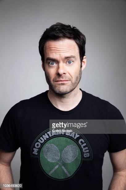 Actor Bill Hader from the show Barry poses for a portrait in the Getty Images Portrait Studio Powered by Pizza Hut at the 2018 SXSW Film Festival on...