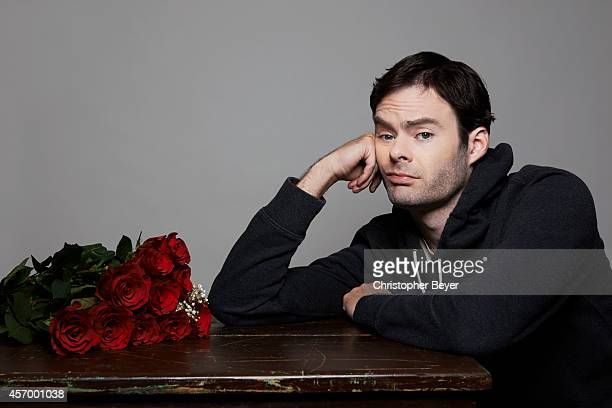 Actor Bill Hader is photographed for Entertainment Weekly Magazine on January 25 2014 in Park City Utah