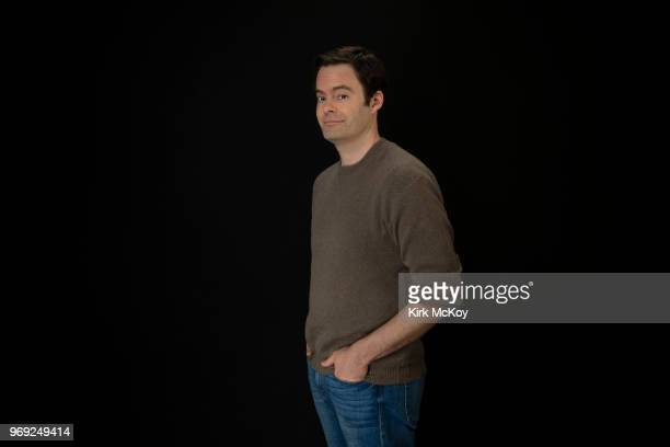 Actor Bill Hader is photographed for Los Angeles Times on April 7 2018 in Los Angeles California PUBLISHED IMAGE CREDIT MUST READ Kirk McKoy/Los...
