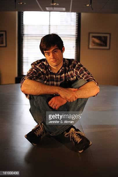 Actor Bill Hader is photographed for Los Angeles Times on July 23 2012 in New York City PUBLISHED IMAGE