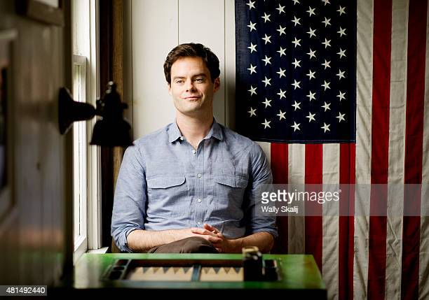 Actor Bill Hader is photographed for Los Angeles Times on June 26 2015 in Santa Monica California PUBLISHED IMAGE CREDIT MUST READ Wally Skalij/Los...