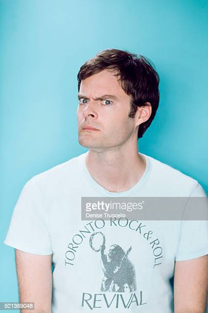 Actor Bill Hader poses for a portrait at the 2013 D23 Expo on August 6, 2013 in Las Vegas, Nevada.
