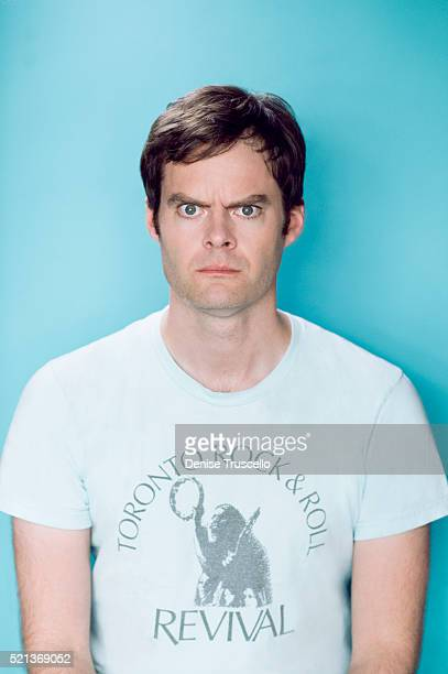Actor Bill Hader poses for a portrait at the 2013 D23 Expo on August 6 2013 in Las Vegas Nevada
