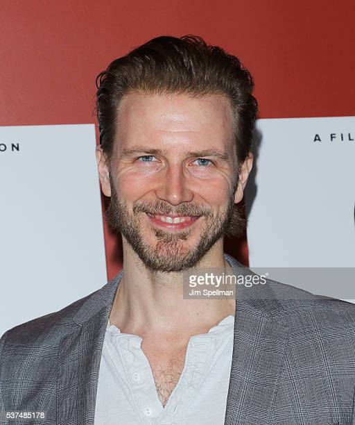 Actor Bill Heck attends the 'Time To Choose' New York screening at Landmark's Sunshine Cinema on June 1 2016 in New York City