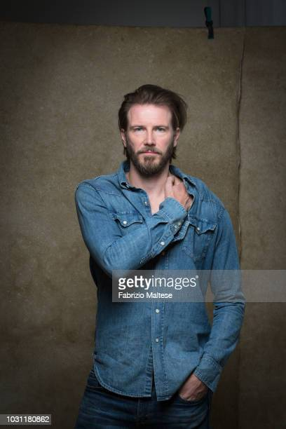 Actor Bill Heck is photographed for The Hollywood Reporter on September 2018 in Venice Italy