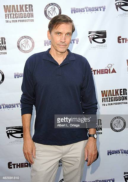 Actor Bill Moseley arrives for the 2014 Etheria Film Night held at American Cinematheque's Egyptian Theatre on July 12 2014 in Hollywood California