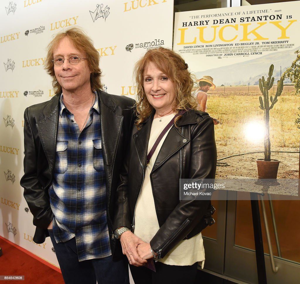 Actor Bill Mumy (L) and Eileen Mumy attend the Los Angeles premiere of 'Lucky' at Linwood Dunn Theater on September 26, 2017 in Los Angeles, California.