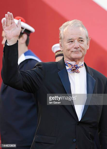 Actor Bill Murray arrives at Electrolux at Opening Night of The 65th Annual Cannes Film Festival at the Palais des Festivals on May 16, 2012 in...