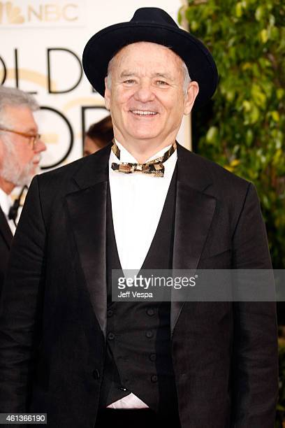Actor Bill Murray attends the 72nd Annual Golden Globe Awards at The Beverly Hilton Hotel on January 11, 2015 in Beverly Hills, California.