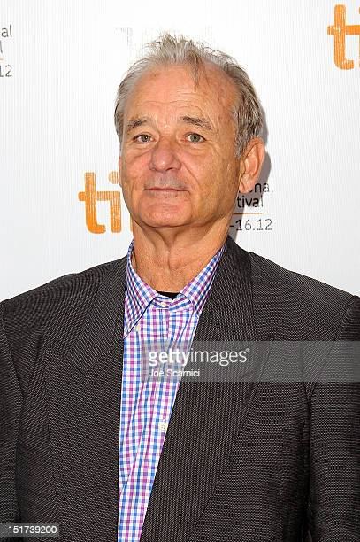 Actor Bill Murray attends the 'Hyde Park On Hudson' premiere during the 2012 Toronto International Film Festival at Roy Thomson Hall on September 10...