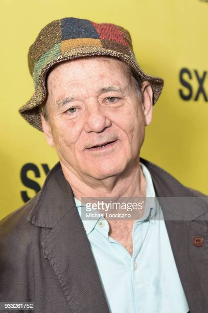 Actor Bill Murray attends the Isle of Dogs premiere during the 2018 SXSW Conference and Festivals at Paramount Theatre on March 17 2018 in Austin...