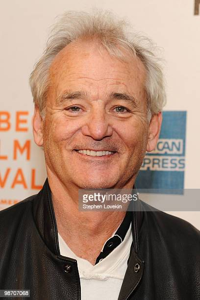 """Actor Bill Murray attends the premiere of """"Get Low"""" during the 2010 Tribeca Film Festival at the Tribeca Performing Arts Center on April 27, 2010 in..."""