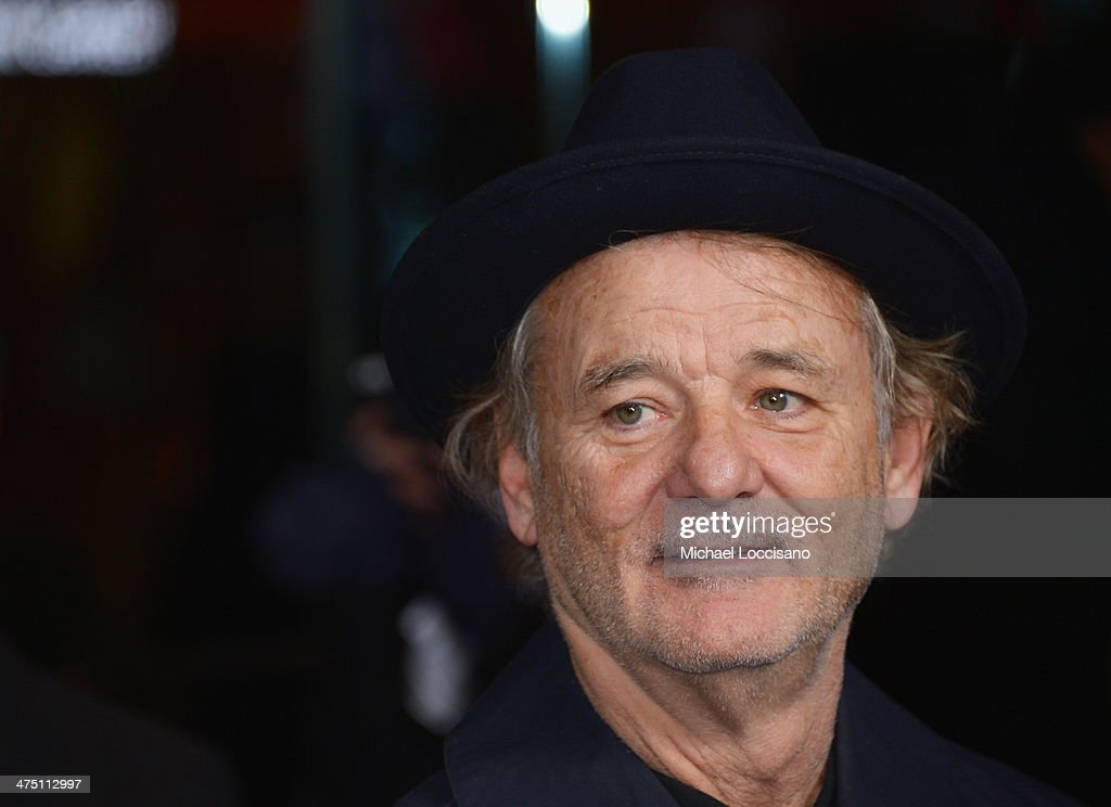 Actor Bill Murray attends the 'The Grand Budapest Hotel' New York Premiere at Alice Tully Hall on February 26, 2014 in New York City.