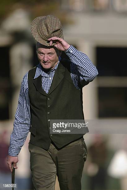 Actor Bill Murray during the third round of the ATT National ProAm on February 2 2002 in Pebble Beach California DIGITAL IMAGE Mandatory Credit Craig...