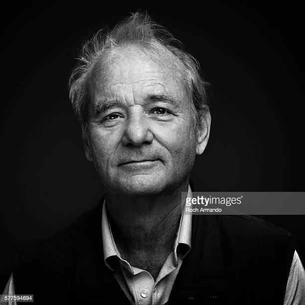 Actor Bill Murray is photographed for Rolling Stone magazine on May 21 2012 in Cannes France