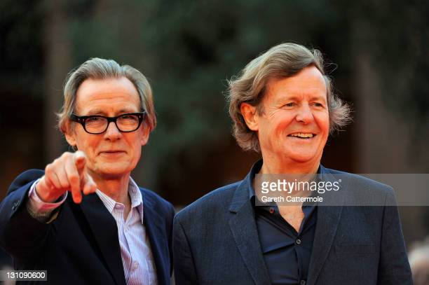 Actor Bill Nighy and writer/director David Hare attend the 'Page Eight' Premiere during the 6th International Rome Film Festival on November 1 2011...