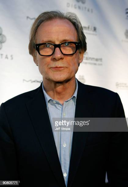 Actor Bill Nighy arrives at the amfAR and Dignitas Inaugural Cinema Against AIDS Toronto held at The Carlu during the 2009 Toronto International Film...
