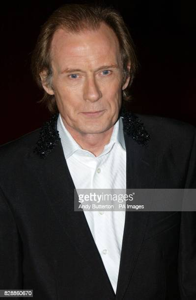 Actor Bill Nighy arrives for the UK Charity film Premiere of Love Actually in aid of Comic Relief held at the Odeon Leicester Square central London...