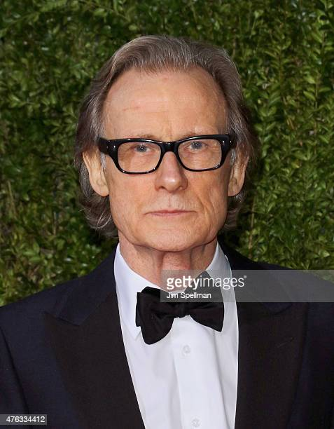 Actor Bill Nighy attends American Theatre Wing's 69th Annual Tony Awards at Radio City Music Hall on June 7 2015 in New York City