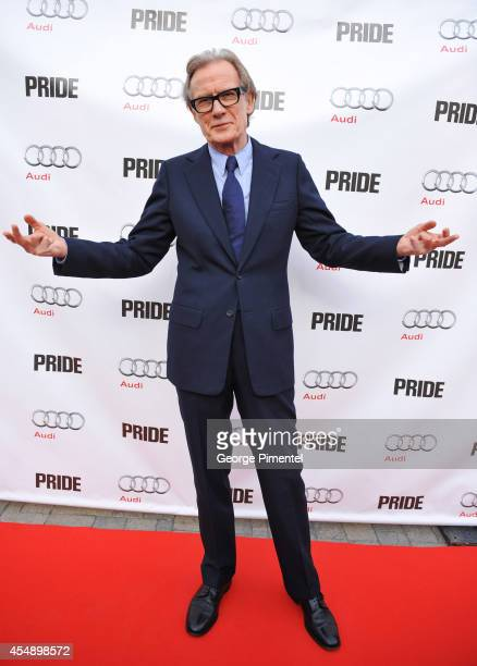 Actor Bill Nighy attends the 'Pride' PostScreening Event Presented By Audi Canada at The Citizen during the 2014 Toronto International Film Festival...