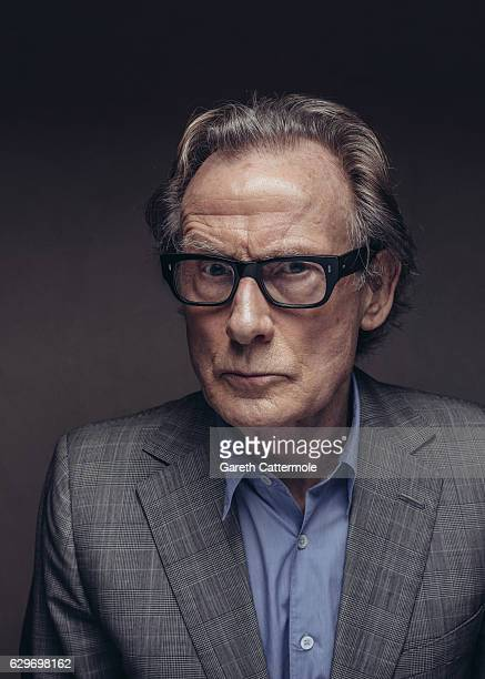 Actor Bill Nighy is photographed at the 13th annual Dubai International Film Festival held at the Madinat Jumeriah Complex on December 8 2016 in...